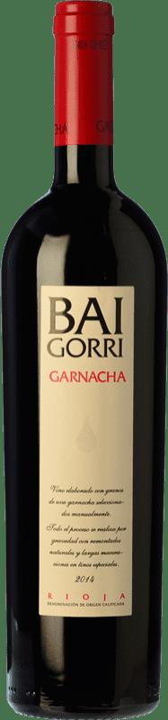 23,95 € Free Shipping | Red wine Baigorri Crianza D.O.Ca. Rioja The Rioja Spain Grenache Bottle 75 cl