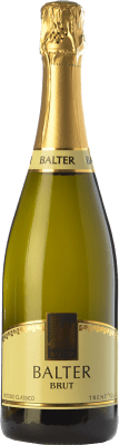 23,95 € Free Shipping | White sparkling Balter Brut D.O.C. Trento Trentino Italy Chardonnay Bottle 75 cl