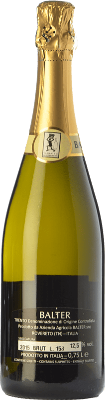 19,95 € Free Shipping | White sparkling Balter Brut D.O.C. Trento Trentino Italy Chardonnay Bottle 75 cl | Thousands of wine lovers trust us to get the best price guarantee, free shipping always and hassle-free shopping and returns.