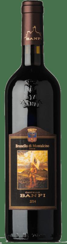41,95 € Free Shipping | Red wine Castello Banfi D.O.C.G. Brunello di Montalcino Tuscany Italy Sangiovese Bottle 75 cl