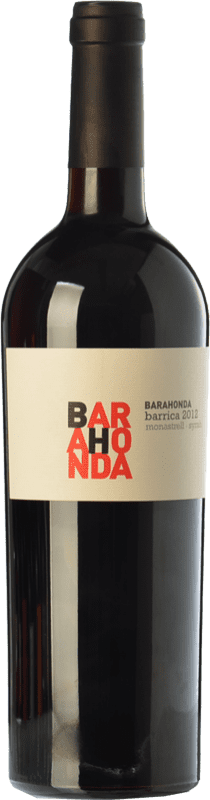 9,95 € Free Shipping | Red wine Barahonda Barrica Joven D.O. Yecla Region of Murcia Spain Syrah, Monastrell Bottle 75 cl