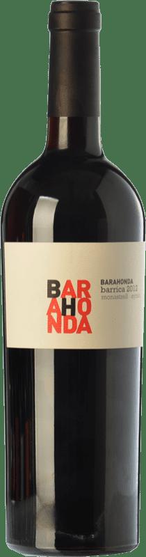 9,95 € Envoi gratuit | Vin rouge Barahonda Barrica Joven D.O. Yecla Région de Murcie Espagne Syrah, Monastrell Bouteille 75 cl