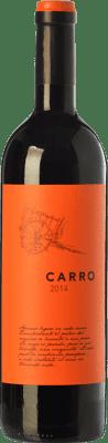 6,95 € Free Shipping | Red wine Barahonda Carro Joven D.O. Yecla Region of Murcia Spain Tempranillo, Merlot, Syrah, Monastrell Bottle 75 cl