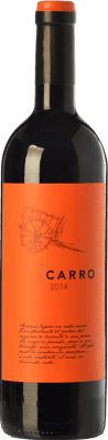 6,95 € Envoi gratuit | Vin rouge Barahonda Carro Joven D.O. Yecla Région de Murcie Espagne Tempranillo, Merlot, Syrah, Monastrell Bouteille 75 cl