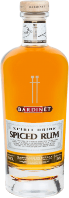 29,95 € Free Shipping | Rum Bardinet Spiced Rum Hermanos Torres Spain Bottle 70 cl