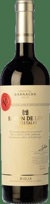 13,95 € Envoi gratuit | Vin rouge Barón de Ley Varietales Joven D.O.Ca. Rioja La Rioja Espagne Grenache Bouteille 75 cl