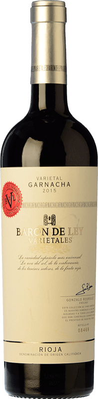 13,95 € Free Shipping   Red wine Barón de Ley Varietales Joven D.O.Ca. Rioja The Rioja Spain Grenache Bottle 75 cl