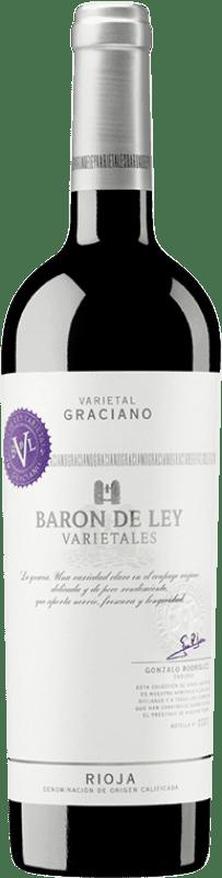 13,95 € Envoi gratuit   Vin rouge Barón de Ley Varietales Joven D.O.Ca. Rioja La Rioja Espagne Graciano Bouteille 75 cl