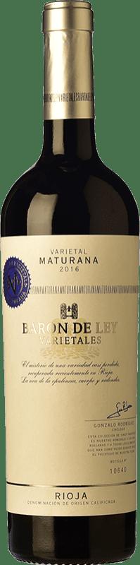 13,95 € Free Shipping | Red wine Barón de Ley Varietales Maturana Joven D.O.Ca. Rioja The Rioja Spain Maturana Tinta Bottle 75 cl