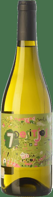 9,95 € Envío gratis | Vino blanco Baronia 7 Desitjos Blanc D.O. Montsant Cataluña España Garnacha Blanca, Macabeo Botella 75 cl
