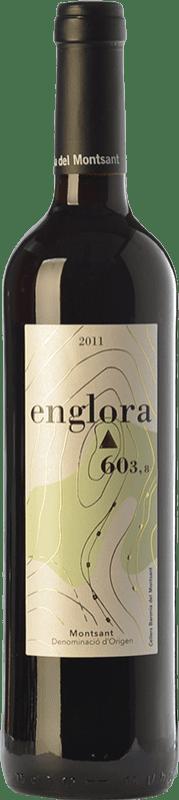 13,95 € Free Shipping | Red wine Baronia Englora Crianza D.O. Montsant Catalonia Spain Merlot, Syrah, Grenache, Cabernet Sauvignon, Samsó Bottle 75 cl