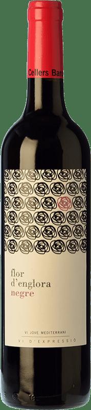 8,95 € Free Shipping | Red wine Baronia Flor d'Englora Garnatxa Joven D.O. Montsant Catalonia Spain Grenache Bottle 75 cl