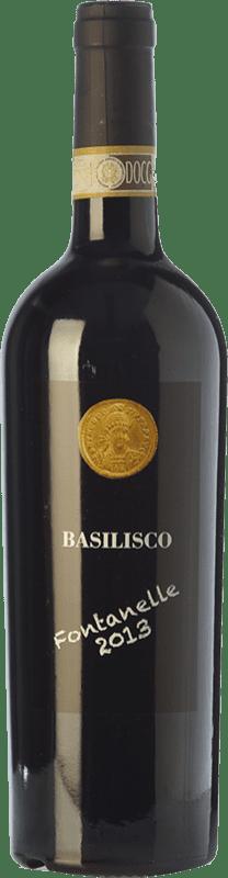 29,95 € Envío gratis | Vino tinto Basilisco Fontanelle D.O.C.G. Aglianico del Vulture Superiore Basilicata Italia Aglianico Botella 75 cl
