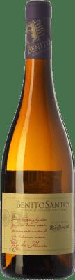 16,95 € Envío gratis | Vino blanco Benito Santos Pago de Xoan D.O. Rías Baixas Galicia España Albariño Botella 75 cl