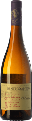 16,95 € Free Shipping | White wine Benito Santos Pago de Xoan D.O. Rías Baixas Galicia Spain Albariño Bottle 75 cl