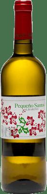 12,95 € Free Shipping | White wine Benito Santos Pequeño Santos D.O. Rías Baixas Galicia Spain Albariño Bottle 75 cl