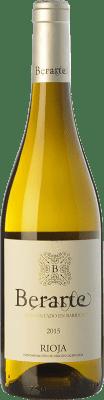 9,95 € Envoi gratuit | Vin blanc Berarte Fermentado en Barrica Crianza D.O.Ca. Rioja La Rioja Espagne Viura Bouteille 75 cl