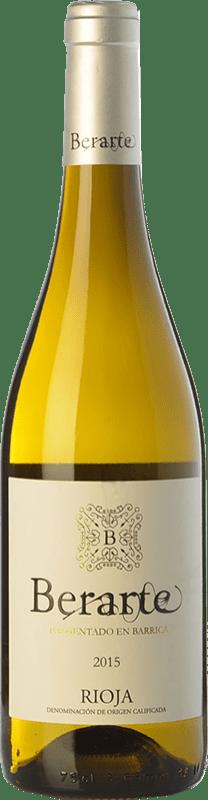 9,95 € Free Shipping | White wine Berarte Fermentado en Barrica Crianza D.O.Ca. Rioja The Rioja Spain Viura Bottle 75 cl