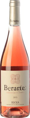 11,95 € Envío gratis   Vino rosado Berarte Fermentado en Barrica D.O.Ca. Rioja La Rioja España Tempranillo Botella 75 cl