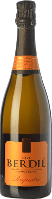 8,95 € Free Shipping | White sparkling Berdié Rupestre Brut Reserva D.O. Cava Catalonia Spain Macabeo, Xarel·lo, Parellada Bottle 75 cl | Thousands of wine lovers trust us to get the best price guarantee, free shipping always and hassle-free shopping and returns.
