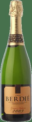 14,95 € Kostenloser Versand | Weißer Sekt Berdié Gran Brut Natur Gran Reserva D.O. Cava Katalonien Spanien Macabeo, Xarel·lo, Parellada Flasche 75 cl