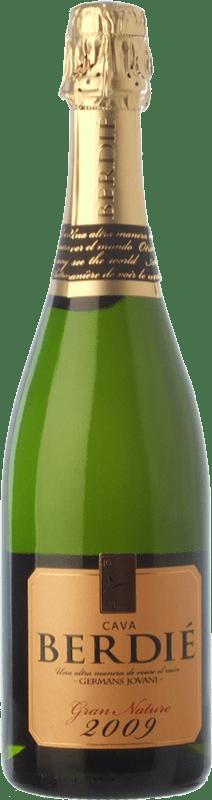 14,95 € Envoi gratuit   Blanc moussant Berdié Gran Brut Nature Gran Reserva D.O. Cava Catalogne Espagne Macabeo, Xarel·lo, Parellada Bouteille 75 cl