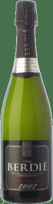 16,95 € Kostenloser Versand | Weißer Sekt Berdié Gran Rupestre Gran Reserva D.O. Cava Katalonien Spanien Macabeo, Xarel·lo, Parellada Flasche 75 cl