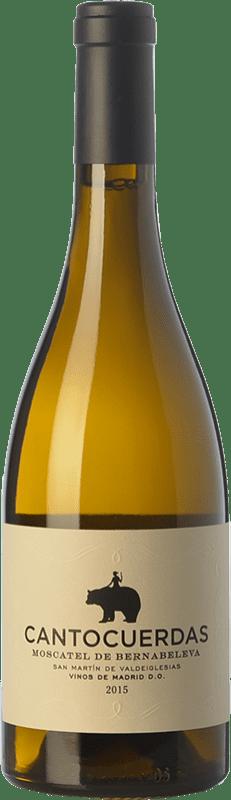 14,95 € Free Shipping | White wine Bernabeleva Cantocuerdas Dry D.O. Vinos de Madrid Madrid's community Spain Muscatel Bottle 75 cl