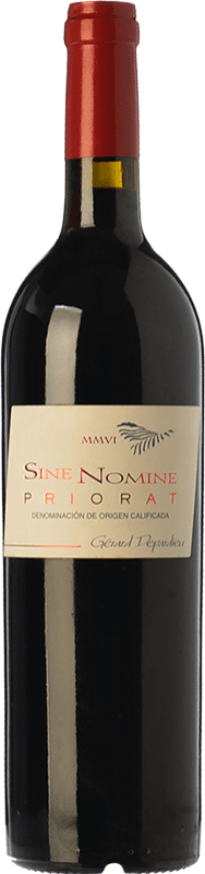 25,95 € Free Shipping | Red wine Bernard Magrez Sine Nomine Crianza D.O.Ca. Priorat Catalonia Spain Merlot, Syrah, Grenache, Cabernet Sauvignon, Carignan Bottle 75 cl
