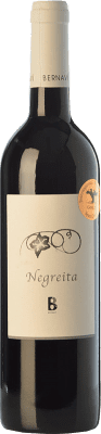 14,95 € Free Shipping | Red wine Bernaví Negreita Crianza Spain Montepulciano, Morenillo Bottle 75 cl