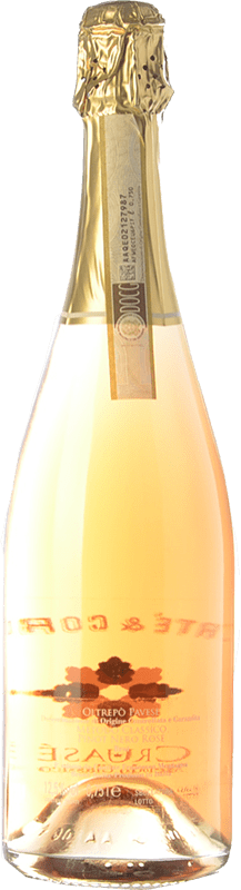 21,95 € Free Shipping | White sparkling Bertè & Cordini Cruasé D.O.C.G. Oltrepò Pavese Metodo Classico Lombardia Italy Pinot Black Bottle 75 cl | Thousands of wine lovers trust us to get the best price guarantee, free shipping always and hassle-free shopping and returns.