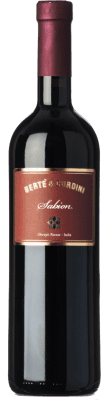 9,95 € Free Shipping | Red wine Bertè & Cordini Sabion D.O.C. Oltrepò Pavese Lombardia Italy Croatina, Rara, Ughetta Bottle 75 cl | Thousands of wine lovers trust us to get the best price guarantee, free shipping always and hassle-free shopping and returns.