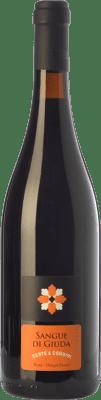 8,95 € Free Shipping | Sweet wine Bertè & Cordini Sangue di Giuda D.O.C. Oltrepò Pavese Lombardia Italy Barbera, Croatina, Rara, Ughetta Bottle 75 cl