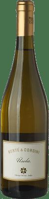 12,95 € Free Shipping | Sweet wine Bertè & Cordini Usela D.O.C. Oltrepò Pavese Lombardia Italy Muscatel White Bottle 75 cl