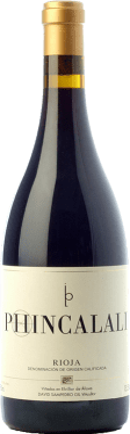 49,95 € Envoi gratuit | Vin rouge Bhilar Phinca Lali D.O.Ca. Rioja La Rioja Espagne Tempranillo, Grenache, Graciano, Viura Bouteille 75 cl