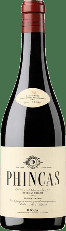 19,95 € Free Shipping | Red wine Bhilar Phincas Crianza D.O.Ca. Rioja The Rioja Spain Tempranillo, Grenache, Graciano, Viura Bottle 75 cl