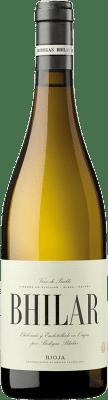 13,95 € Free Shipping | White wine Bhilar Plots Crianza D.O.Ca. Rioja The Rioja Spain Viura, Grenache White Bottle 75 cl