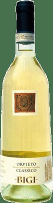9,95 € Free Shipping | White wine Bigi Vigneto Torricella D.O.C. Orvieto Umbria Italy Malvasía, Trebbiano, Verdejo, Drupeggio Bottle 75 cl