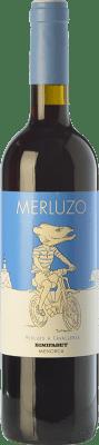 8,95 € Free Shipping | Red wine Binifadet Merluzo Joven I.G.P. Vi de la Terra de Illa de Menorca Balearic Islands Spain Merlot, Syrah Bottle 75 cl