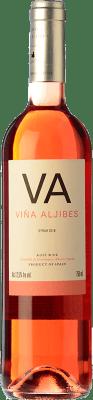 7,95 € Free Shipping | Rosé wine Los Aljibes Viña Aljibes Joven I.G.P. Vino de la Tierra de Castilla Castilla la Mancha Spain Syrah Bottle 75 cl