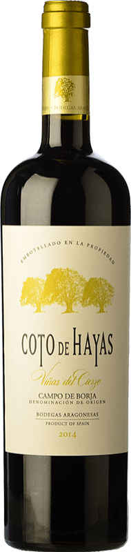 9,95 € Free Shipping | Red wine Bodegas Aragonesas Coto de Hayas Reserva D.O. Campo de Borja Aragon Spain Tempranillo, Grenache Bottle 75 cl