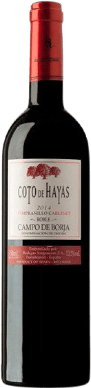 4,95 € Envoi gratuit   Vin rouge Bodegas Aragonesas Coto de Hayas Crianza D.O. Campo de Borja Aragon Espagne Tempranillo, Cabernet Sauvignon Bouteille 75 cl