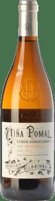 29,95 € 免费送货 | 白酒 Bodegas Bilbaínas Viña Pomal Crianza D.O.Ca. Rioja 拉里奥哈 西班牙 Maturana White 瓶子 75 cl | 成千上万的葡萄酒爱好者信赖我们,保证最优惠的价格,免费送货,购买和退货,没有复杂性.