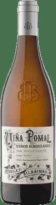 34,95 € 免费送货 | 白酒 Bodegas Bilbaínas Viña Pomal Crianza D.O.Ca. Rioja 拉里奥哈 西班牙 Tempranillo White 瓶子 75 cl | 成千上万的葡萄酒爱好者信赖我们,保证最优惠的价格,免费送货,购买和退货,没有复杂性.