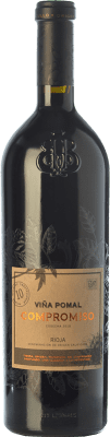 29,95 € Free Shipping | Red wine Bodegas Bilbaínas Viña Pomal Compromiso Joven D.O.Ca. Rioja The Rioja Spain Tempranillo, Grenache, Graciano, Mazuelo, Maturana Tinta Bottle 75 cl. | Thousands of wine lovers trust us to get the best price guarantee, free shipping always and hassle-free shopping and returns.