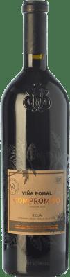 33,95 € Envoi gratuit | Vin rouge Bodegas Bilbaínas Viña Pomal Compromiso Joven D.O.Ca. Rioja La Rioja Espagne Tempranillo, Grenache, Graciano, Mazuelo, Maturana Tinta Bouteille 75 cl