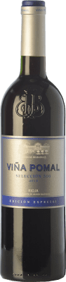 9,95 € Free Shipping | Red wine Bodegas Bilbaínas Viña Pomal Selección 500 Crianza D.O.Ca. Rioja The Rioja Spain Tempranillo, Grenache Bottle 75 cl. | Thousands of wine lovers trust us to get the best price guarantee, free shipping always and hassle-free shopping and returns.