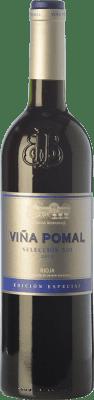 11,95 € Envoi gratuit | Vin rouge Bodegas Bilbaínas Viña Pomal Selección 500 Crianza D.O.Ca. Rioja La Rioja Espagne Tempranillo, Grenache Bouteille 75 cl