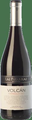 6,95 € Envío gratis | Vino tinto Bodegas del Jalón Volcán Joven D.O. Calatayud Aragón España Tempranillo Botella 75 cl