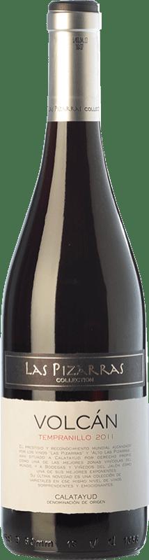 6,95 € Free Shipping | Red wine Bodegas del Jalón Volcán Joven D.O. Calatayud Aragon Spain Tempranillo Bottle 75 cl